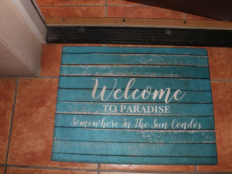 """Who's ready to travel again?  Come to """"Somewhere in the Sun"""" at Grande Bay!, holiday rental in Cruz Bay"""
