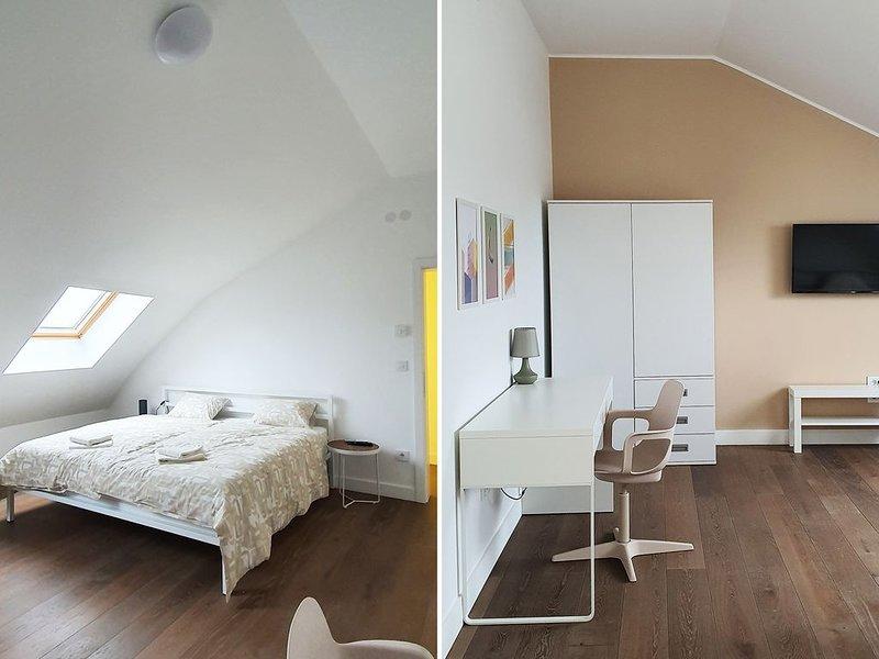 Spacious new duplex apartment near the Fortress, alquiler vacacional en Sremski Karlovci