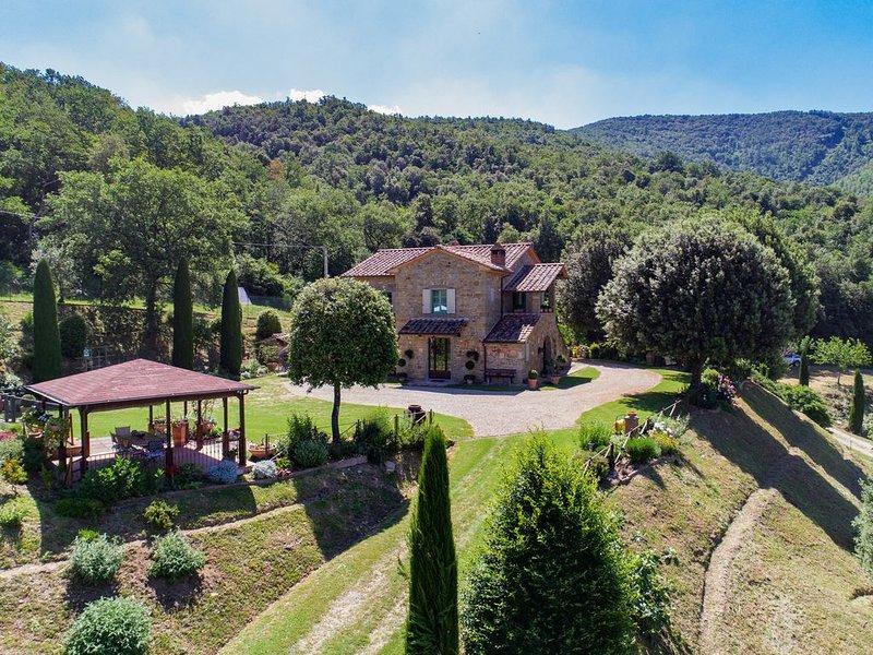 Fonte Vinaglia, bellissimo agriturismo in Toscana!, location de vacances à Castiglion Fiorentino