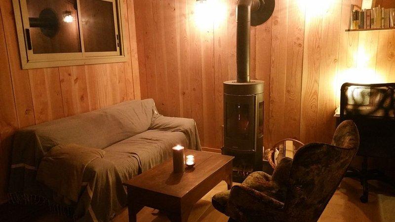 Cabane cosy toute équipée à 2 pas de Nantes, vakantiewoning in Sautron