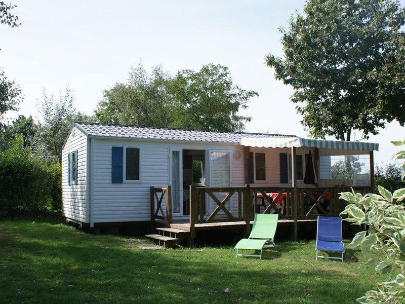 Mobil home Nirvana - Camping Les Rives de Vilaine,, casa vacanza a Nivillac