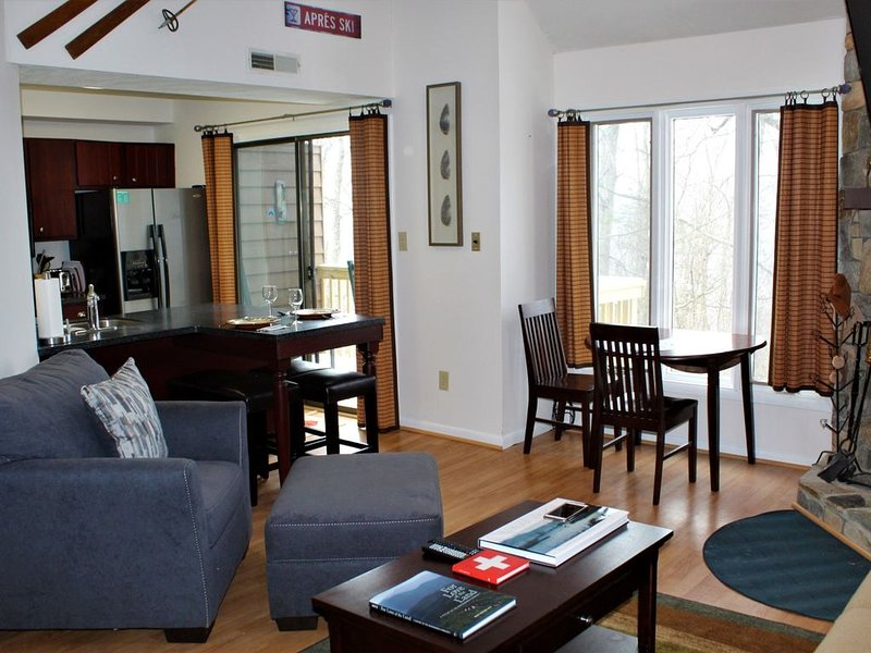 'Swiss Chalet' Updated, Modern & Ready! Join us for your winter retreat., holiday rental in Nellysford