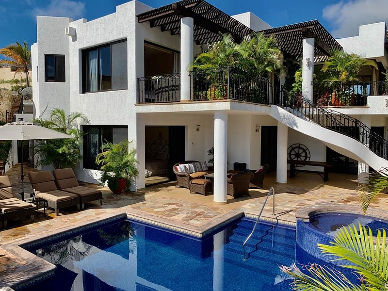 APR 8-14 SPECIAL Villa Ponticello 5 B/7 Bth Villa in Pedregal w/ CHEF+MAID incl, location de vacances à Cabo San Lucas