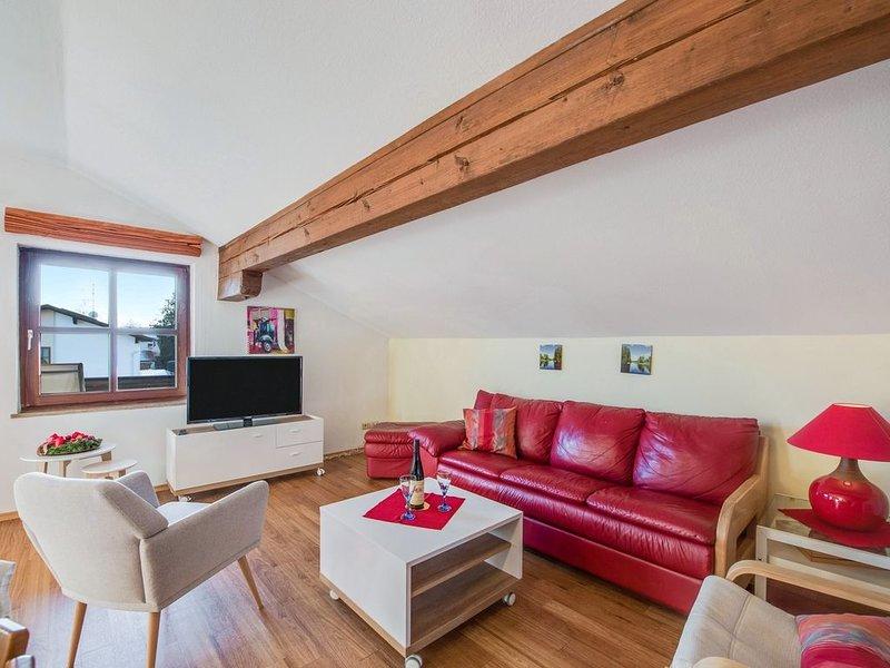 Alpenblick, Wohnung mit Terrasse und Balkon, alquiler vacacional en Prien am Chiemsee