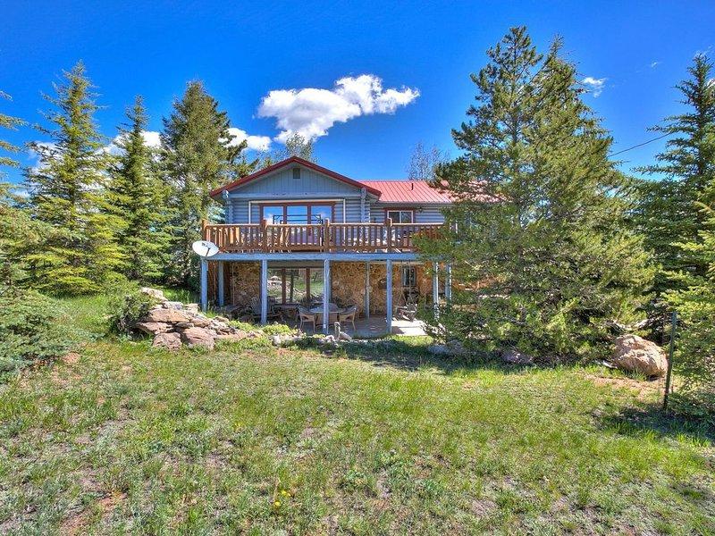 Bluebird Cabin, Estes Park CO, alquiler de vacaciones en Glen Haven