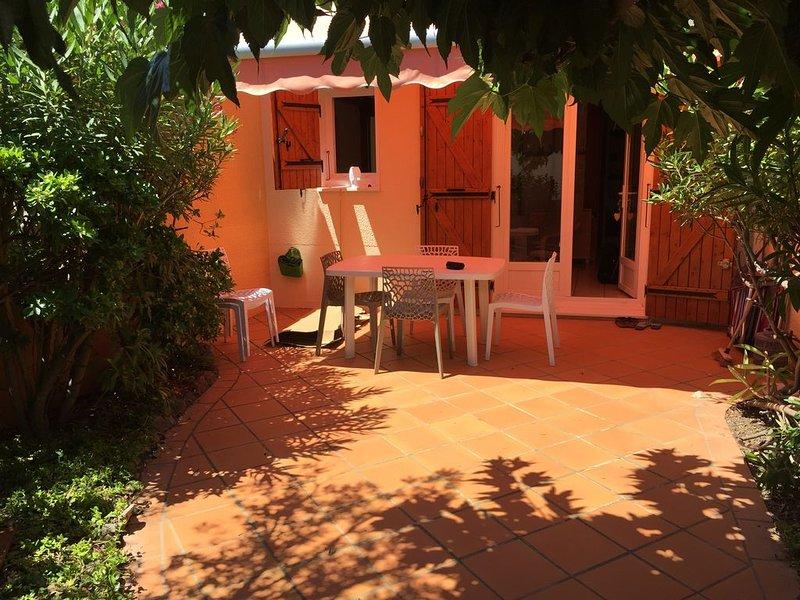 Maison à louer à 50 m de la plage, casa vacanza a Le Barcares