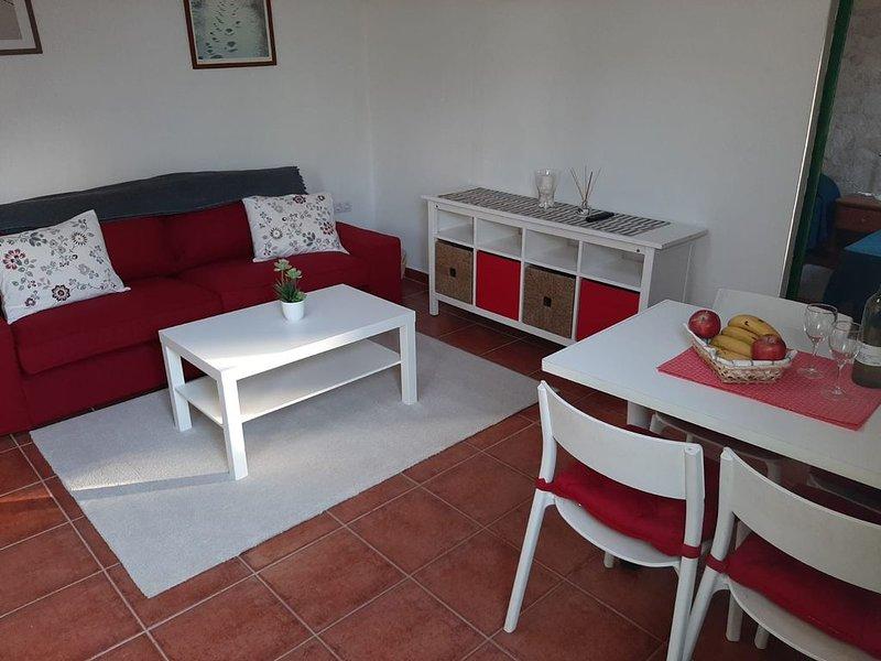 Apartamento Chinijo en un lugar de encanto, alquiler de vacaciones en Caleta de Sebo