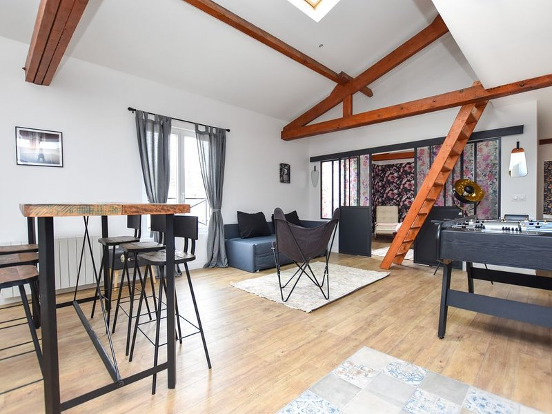 LOFT - Tremblay, CDG, Villepinte, Disney, Parc Astérix, holiday rental in Chelles