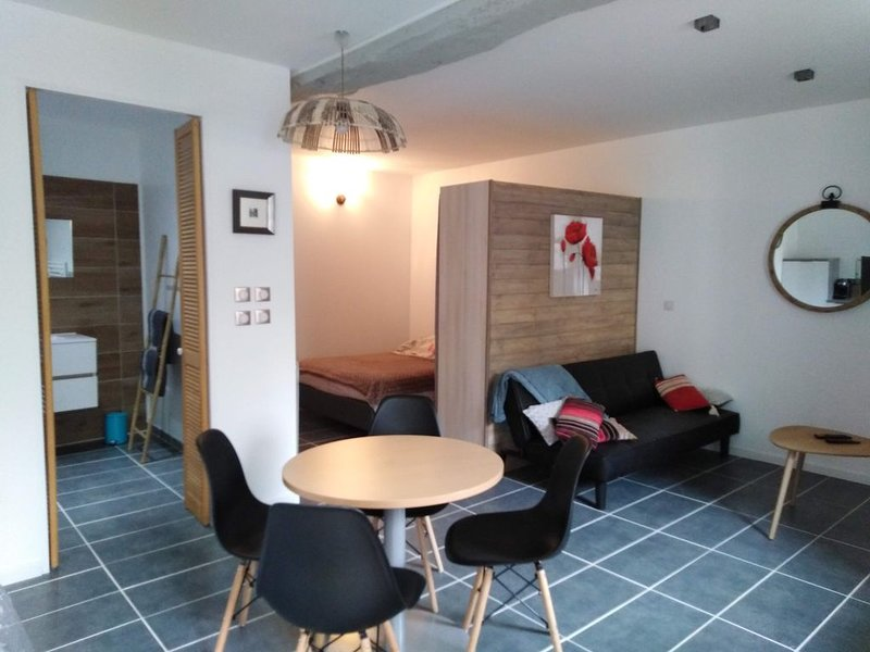 appartement dans cadre verdoyant, entre Toulouse et les Pyrénées, aluguéis de temporada em Salies-du-Salat