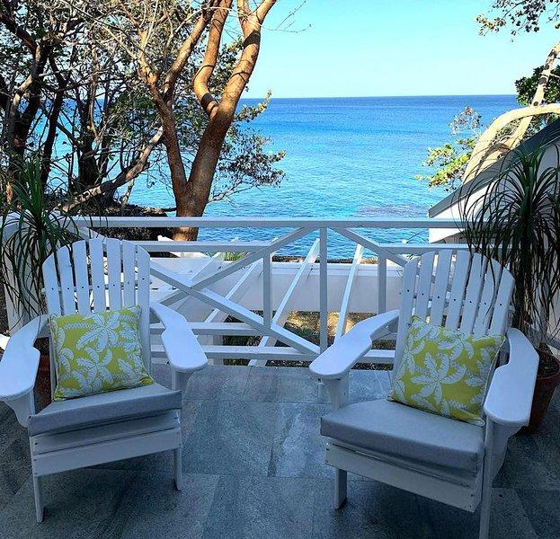 Cliffhouse a gem facing the caribbean sea, holiday rental in Hanover Parish