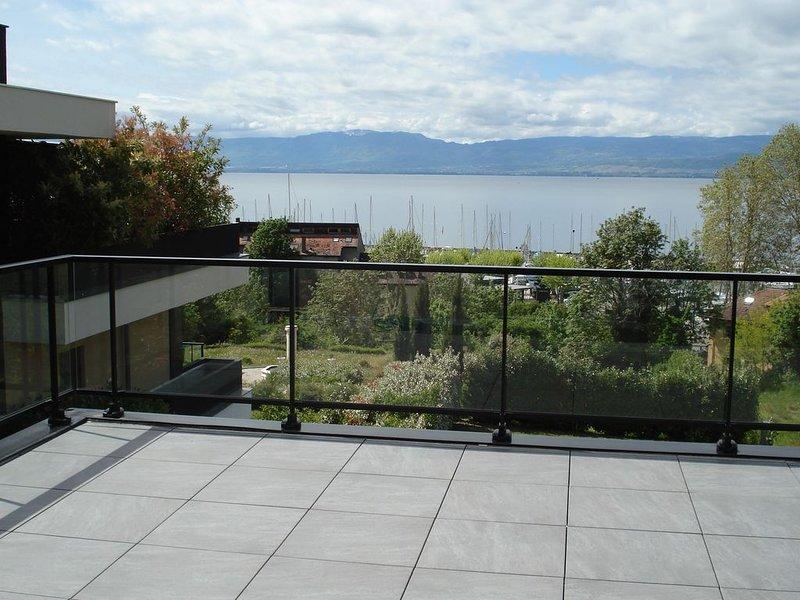 Appartement avec vue sur le lac Léman, vacation rental in Thonon-les-Bains