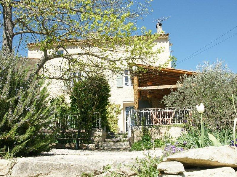 Joli mas provençal datant du XVIII ° siècle., aluguéis de temporada em Saint-Martin-de-la-Brasque