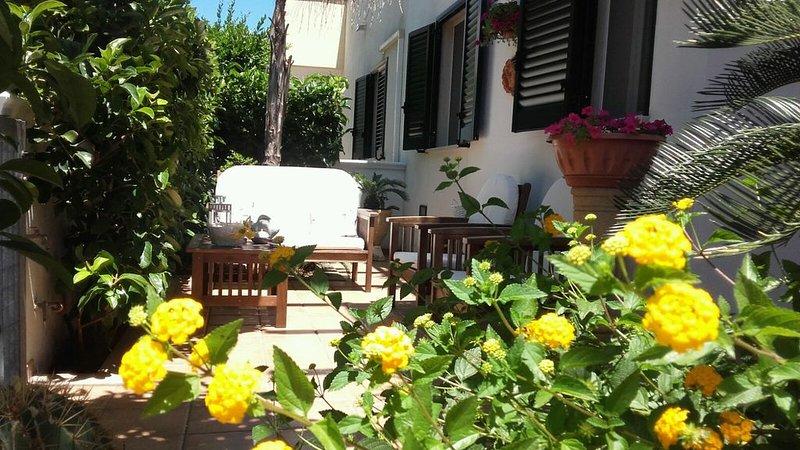 Villa al mare piano terra a pochi metri dalla spiaggia, vicina a Ostuni, aluguéis de temporada em Carovigno