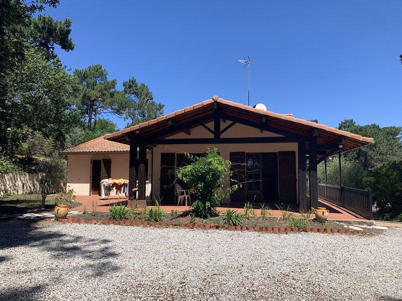 Villa 5 chambres avec piscine au Cap-Ferret, location de vacances à Claouey