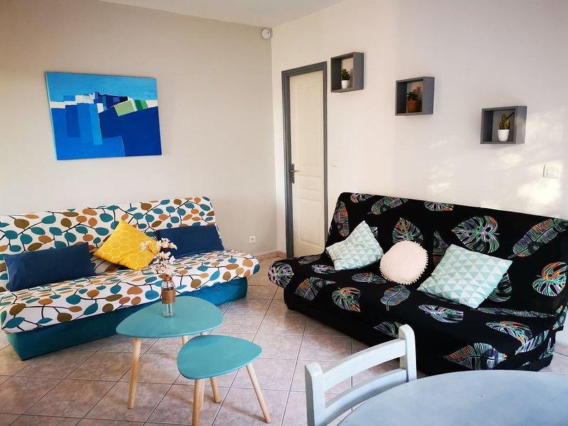 T4 avec terrasse et jardin à 10 min de Saint Florent, location de vacances à Barbaggio