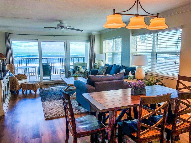 Family-Friendly Direct Oceanfront 3BR/3BA 2nd Flr. Corner-NOV/DEC SPECIAL RATES, alquiler de vacaciones en Oak Hill