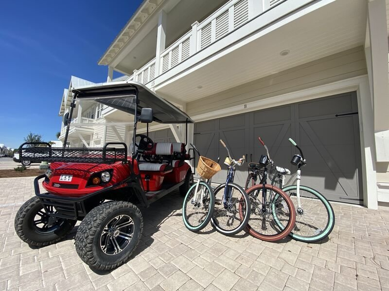 Prominence on 30A - Golf Cart Included - 'Tipsea Kitty' - Virtual Tour, holiday rental in Rosemary Beach