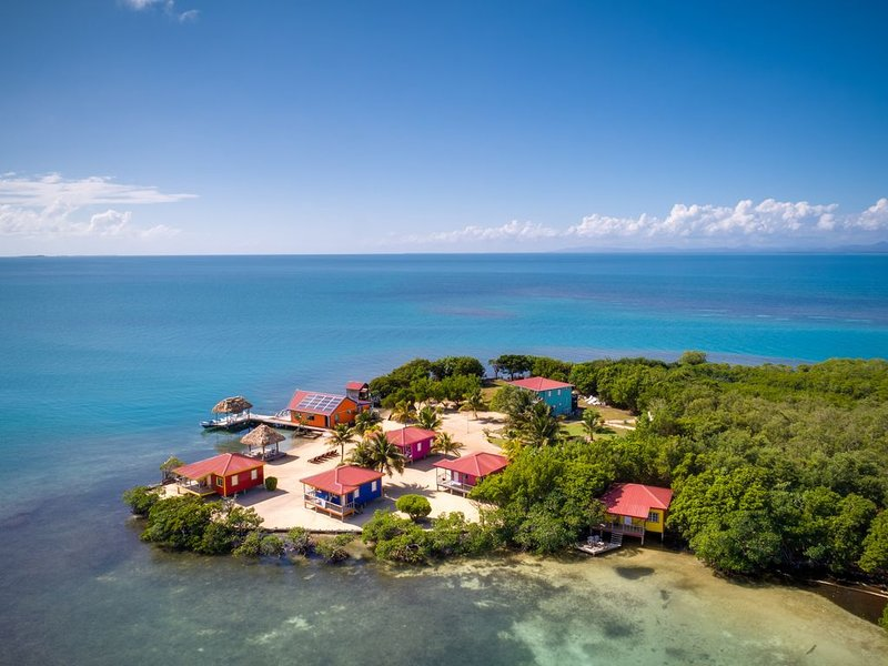 Ha II Cabana, Private Island , Yok Ha Resort, Belize,, vacation rental in Tobacco Caye