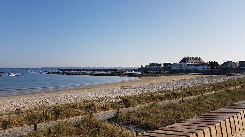 Villa sur la plage, Bretagne Sud , 8 personnes, holiday rental in Ploemeur
