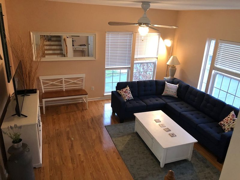 Newly renovated Bethany Townhouse w/ community pool and boat launch, vacation rental in Millville