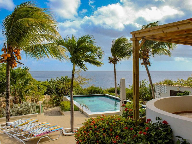 Sabadeco oceanfront home w/ spectacular views of the Caribbean Sea, vacation rental in Sabadeco