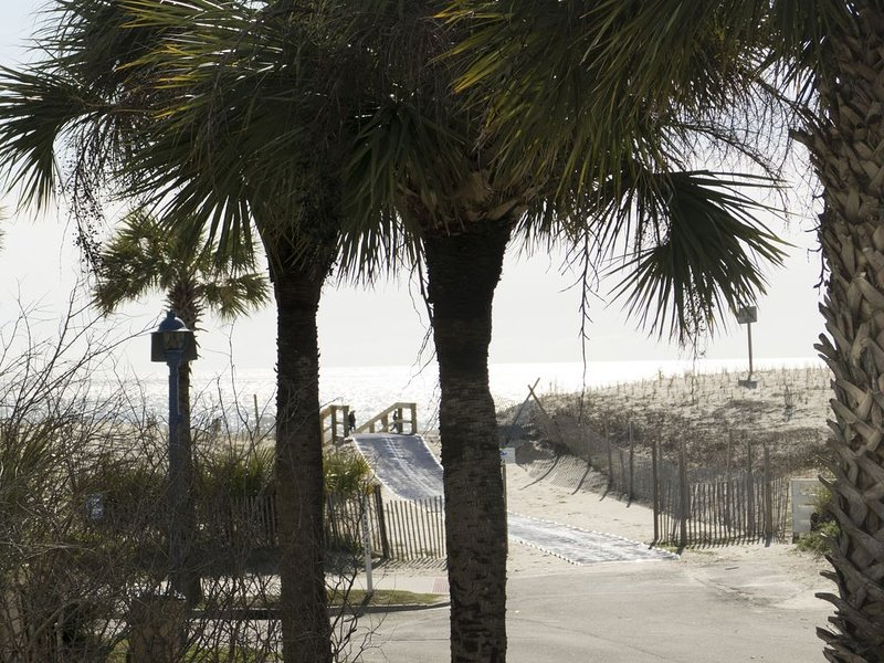 Sea Spray, NO CONTACT CHECK IN, Ocean View, Private, Elevator, Steps  to Beach, holiday rental in Wilmington Island