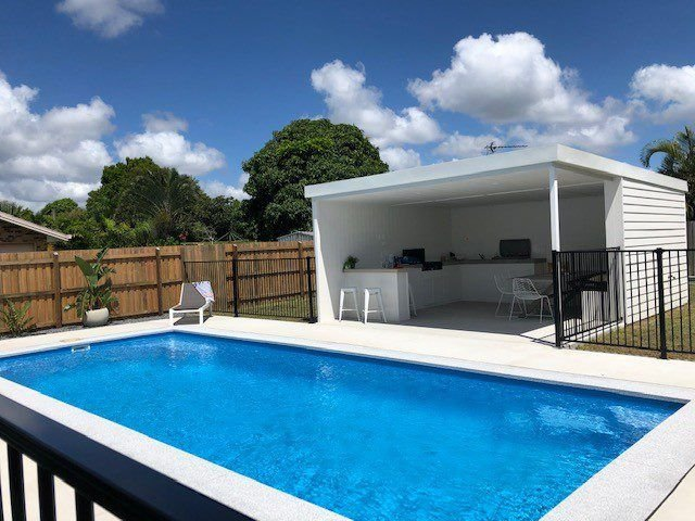 46 Tingira Close- pool, air con, pets, 3 bedrooms – semesterbostad i Gympie Region