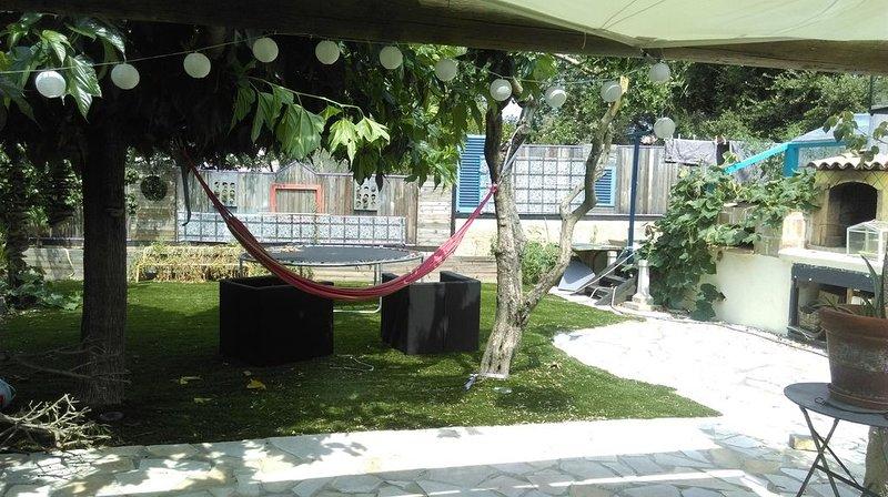 maison avec piscine au calme et verdoyant, alquiler vacacional en Port Cogolin