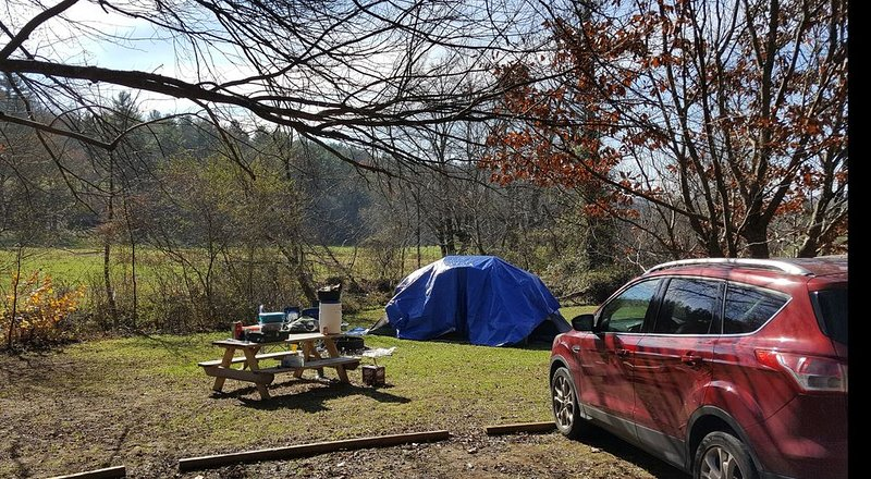 Campsite #3! Tent camping near Dupont State Forest!, holiday rental in Penrose