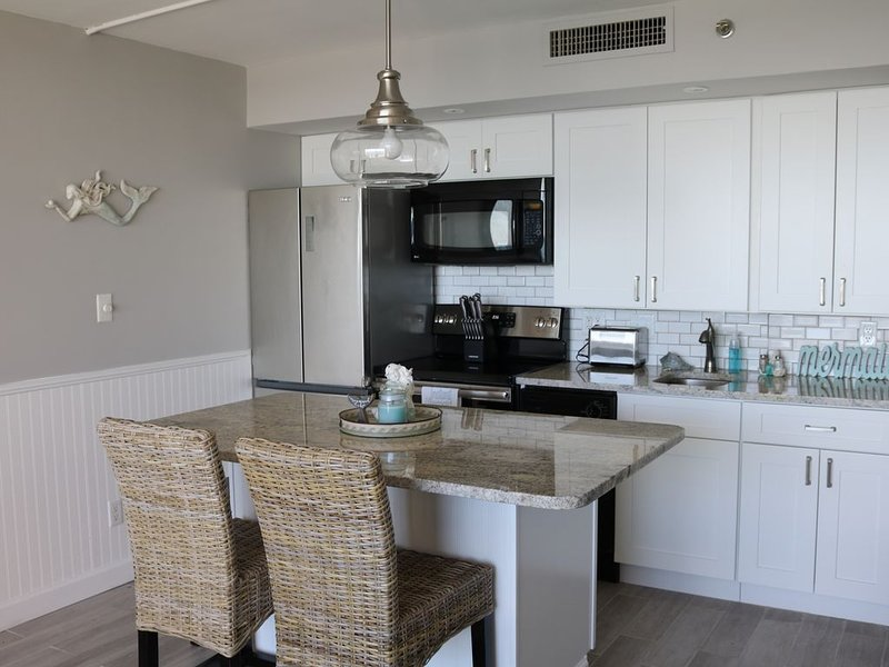 Recently renovated condo, 1BR 1BA, Beautiful upgrades and coastal decor., holiday rental in Myrtle Beach