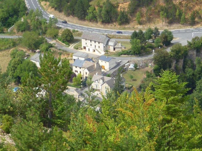 Maison familiale au centre de la Lozère, location de vacances à Mende