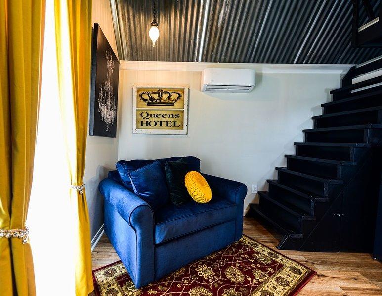 Queens Hotel- a cozy studio cottage in the country, aluguéis de temporada em Round Top