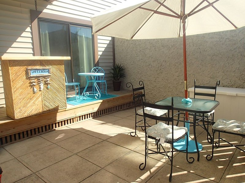 BEST Location 120 St 2B2B Private Courtyard CLEAN/ SANITIZED., alquiler de vacaciones en Ocean City