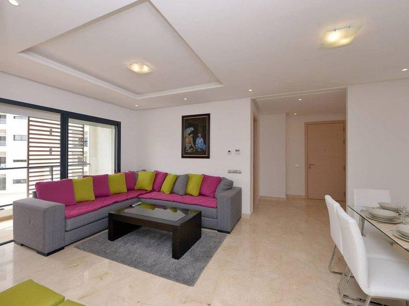 Hay Riad Rabat 2 - Quartier d'Affaires, alquiler de vacaciones en Región de Rabat-Salé-Zemur-Zaer