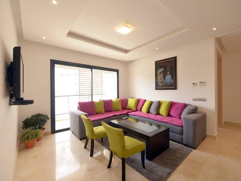 Hay Riad Rabat 3 - Quartier d'Affaires, alquiler de vacaciones en Región de Rabat-Salé-Zemur-Zaer