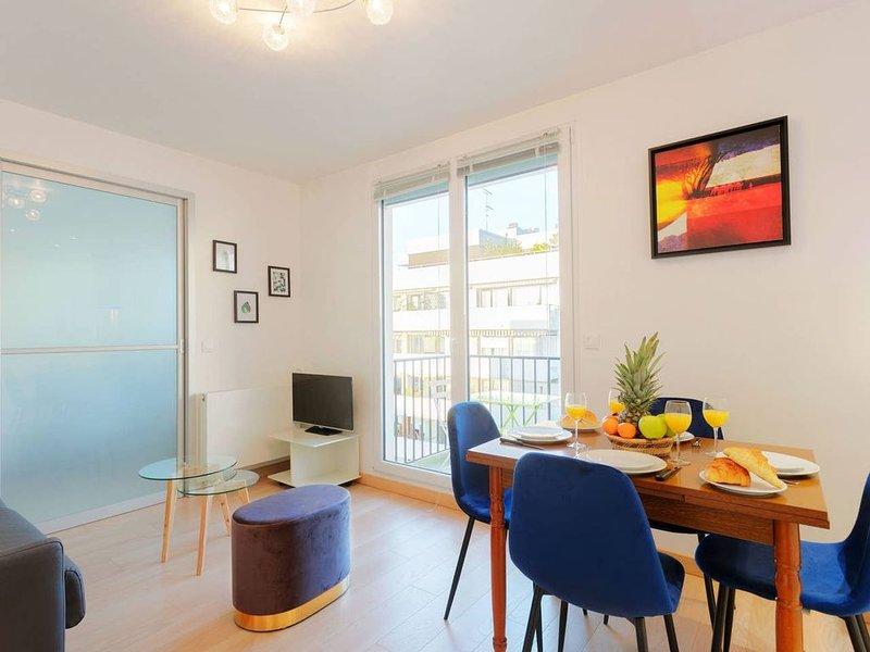 Appartement Neuf avec Balcon et Vue sur La Tour Eiffel, vakantiewoning in Hauts-de-Seine