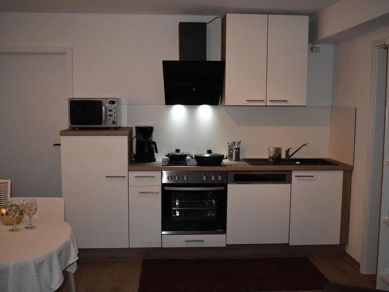 Modernes Apartment Landshut, modern + komplett eingerichtet, grosse Terrasse,, holiday rental in Landshut