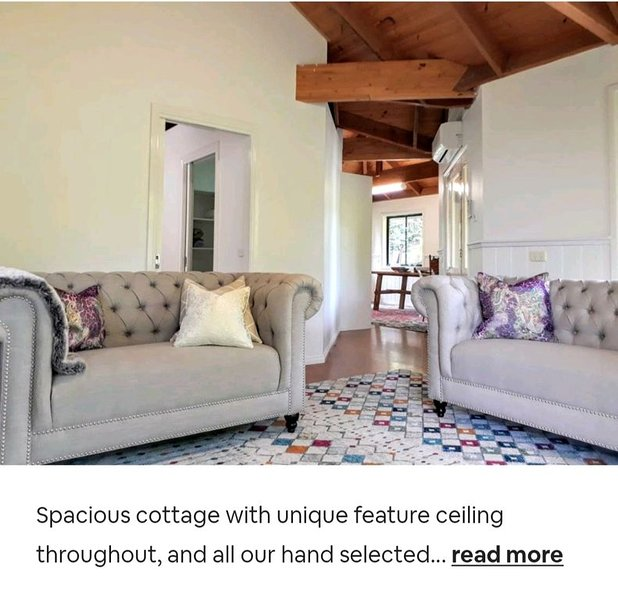 Sandy's pottery cottage with lush green gardens, vacation rental in Marysville