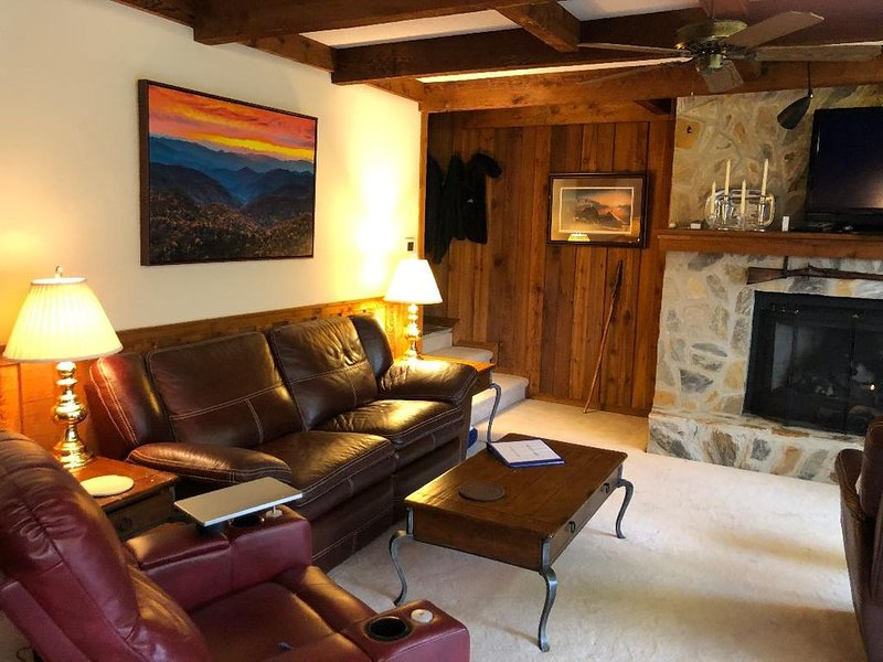 LUXURY 2BR/2BA OVER THE FALLS, UPSCALE, WITH SPECTACULAR  TOXAWAY FALLS VIEWS, Ferienwohnung in Lake Toxaway