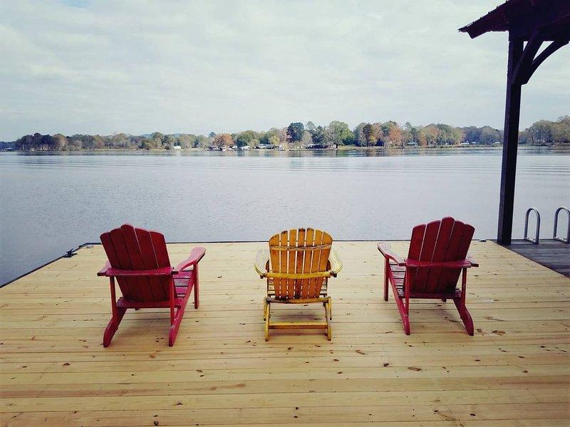 Lay Lake - Quarantine get away in private area, holiday rental in Pelham