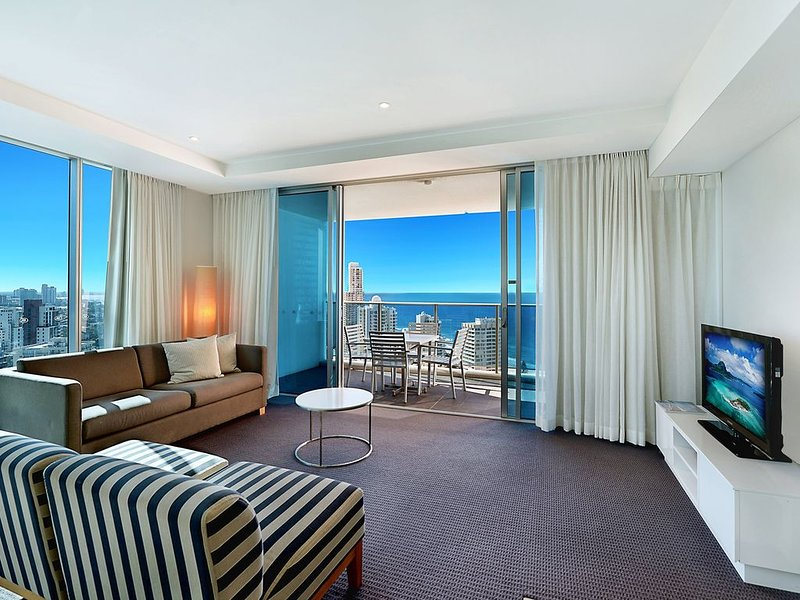 Apartment 13205 - Level 32 3 bedrooms, location de vacances à Surfers Paradise