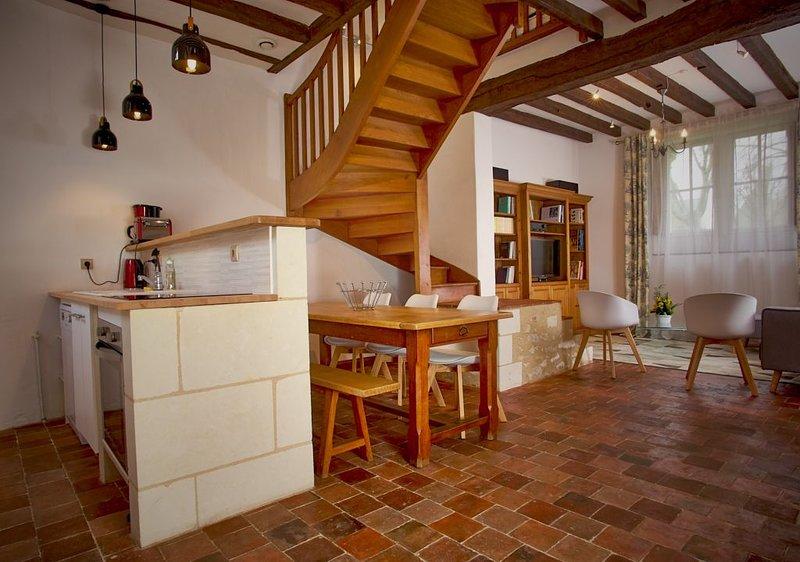 TOURS agglomération, maison au centre bourg, holiday rental in Montlouis-sur-Loire