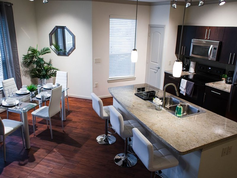 Modern spacious two bedroom unit near NRG Stadium!, alquiler vacacional en Fresno