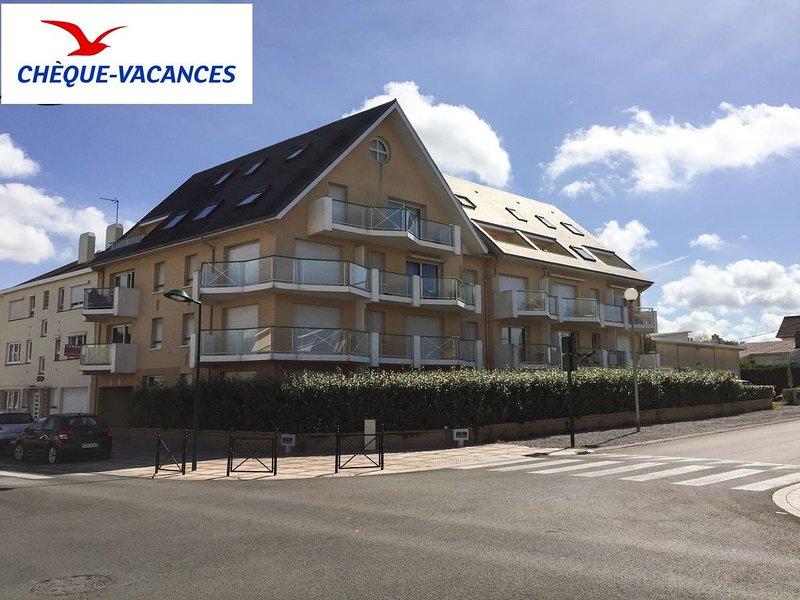Appart 'Flora', 700m plage avec garage et Wifi - Stella plage (Le Touquet), alquiler vacacional en Merlimont