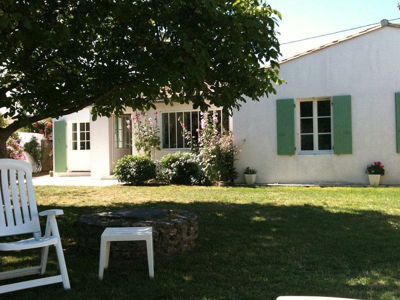 Villa familiale en location à Saint-Clément-des-Baleines idéalement située, holiday rental in Saint Clement des Baleines