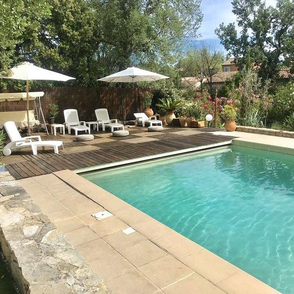 Bel appartement dans haut de Villa Provençale, location de vacances à Le Luc