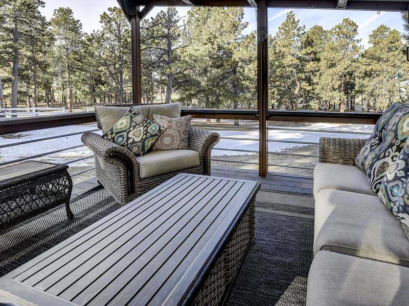 Colorado  Country Home (Black Forrest), vacation rental in Black Forest