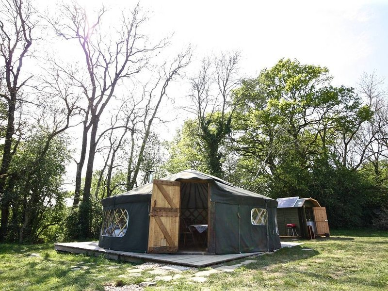 'Willow' Yurt in West Sussex Countryside, holiday rental in Haslemere