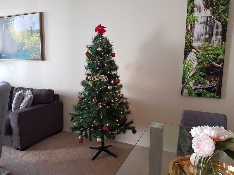 Your own Christmas tree during the Christmas period (only in December)