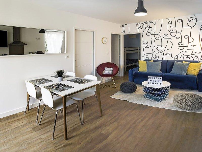 Appartement de Chez Lambert désinfecté et prêt �, casa vacanza a Soyaux